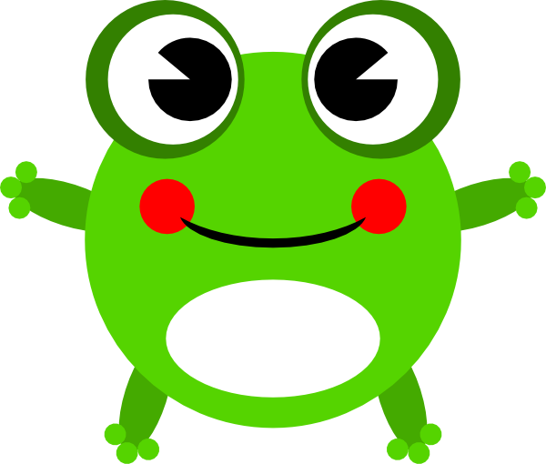 Cartoon frog - photo#28