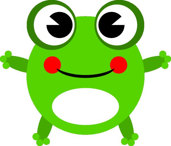 Frog 12 Clip Art at Clker.com - vector clip art online, royalty free ...