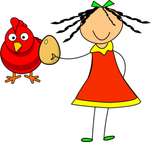 Doll Red Hen Clip Art