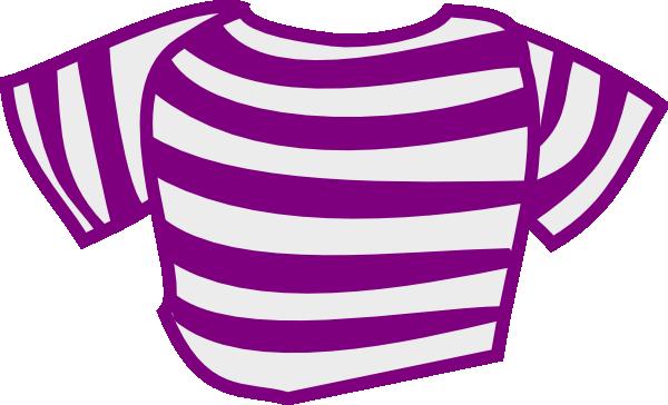 Purple Striped Shirt Clip Art At Clker Com Vector Clip