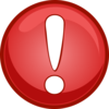 Alert Icon Red Clip Art