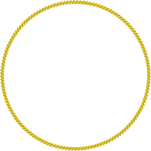 Rope Gold Circle Clip Art