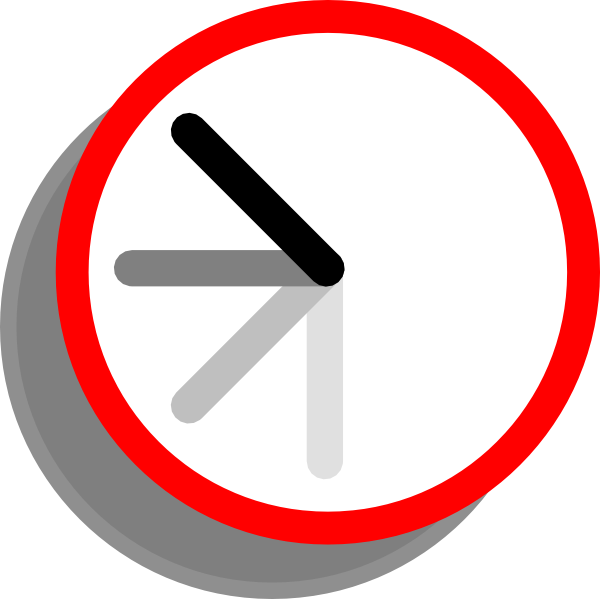 Ticking Clock Frame 6 Clip Art at Clker.com - vector clip ...