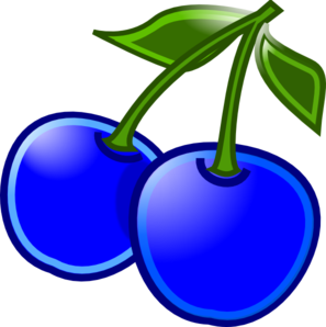 Cartoon Blueberry Clipart