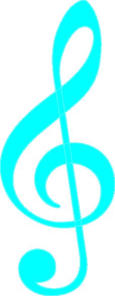 treble clef blue clip art at clker com vector clip art electric bass guitar clipart fender bass guitar clipart