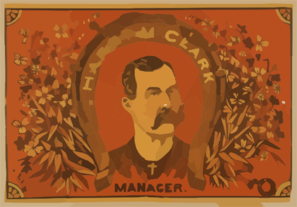 Harry M. Clark, Manager Clip Art