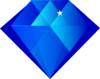 Blue Diamond Clip Art