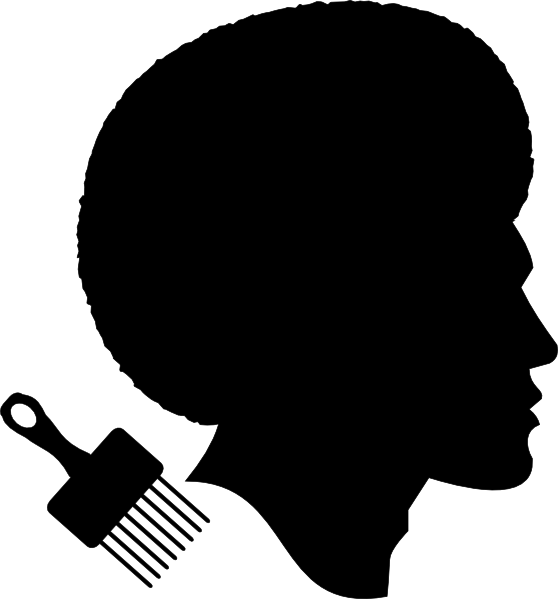 African American Afro Male Profile Clip Art at Clker.com ...
