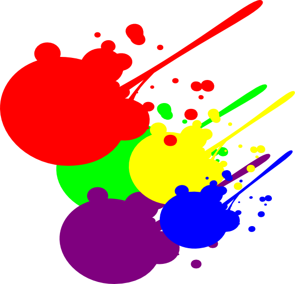 Clip Art Paint Splatter