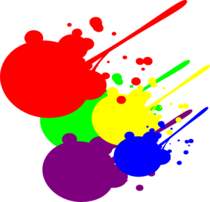 Paint Splatter Clip Art
