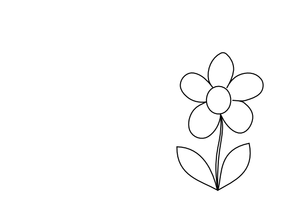Small Simple Flower2 Clip Art At Clker Com Vector Clip