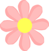 Cute Flower Pink Clip Art