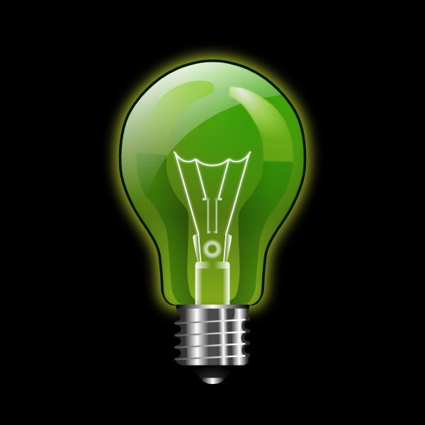 Green Lightbulb Clip Art At Vector Clip Art Online Royalty Free Public Domain
