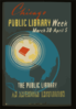 Chicago Public Library Week--march 30 - April 5 The Public Library--an American Institution / A.s. Clip Art