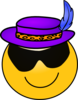 Pimp Smiley Clip Art