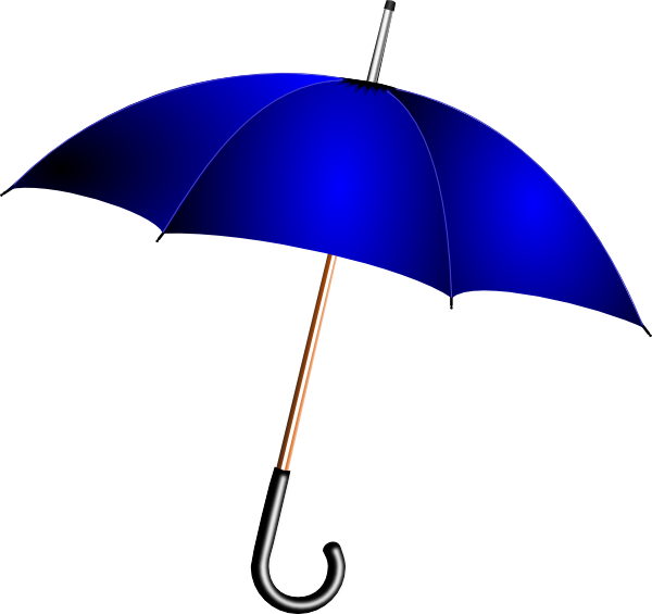 open blue umbrella clip art at vector clip art online royalty free public domain. Black Bedroom Furniture Sets. Home Design Ideas