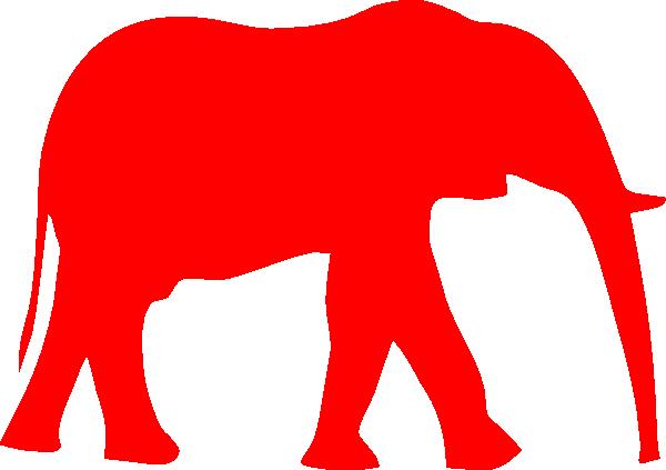republican symbol clip art at clker com vector clip art online rh clker com republican clipart elephant republican clipart transparent background