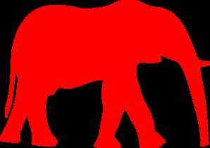 republican symbol clip art at clker com vector clip art online rh clker com republican logo clipart republican elephant clipart free