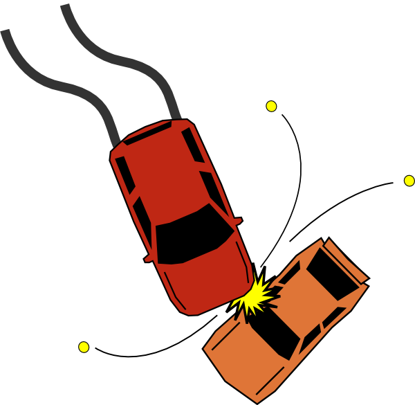 Car Accident Collision Clip Art at Clker.com - vector clip ...