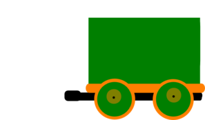 Toot Toot Train And Carriage Mk 3 Clip Art