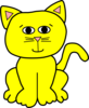 Yellow Happy 3 Clip Art
