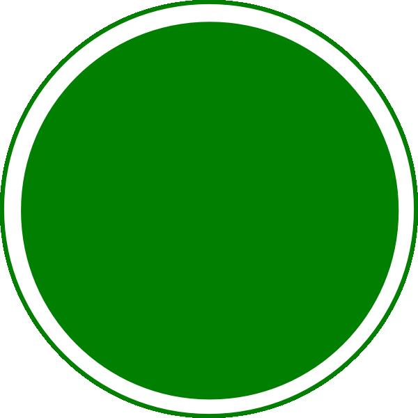 glossy green circle button clip art at clker com vector clip art