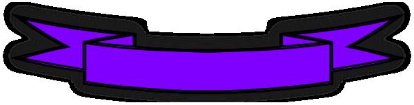 purple banner clip art at clker com vector clip art online