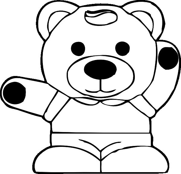Teddy Clip Art at Clker vector clip art online