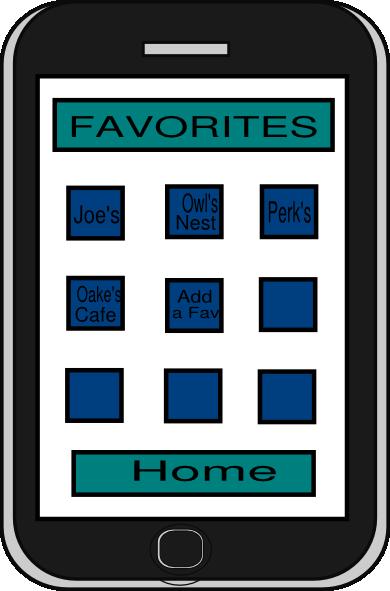 iphone app clip art at vector clip art online