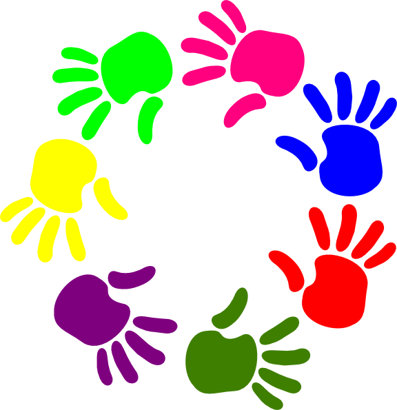 children hands clipart - photo #42