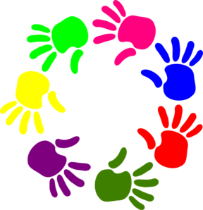 circle of hands clip art at clker com vector clip art online rh clker com free hand clipart free hand clipart