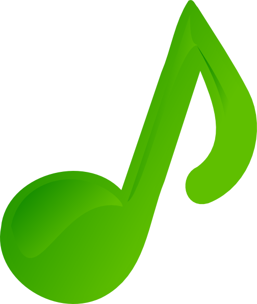 Green Music Note Clip Art at Clker.com - vector clip art ...