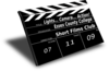 The View Launch Clapper Board Clip Art