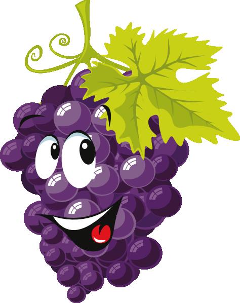 Cartoon Grapes Icons Clip Art at Clker.com - vector clip ...