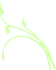 Light Green Vine Clip Art