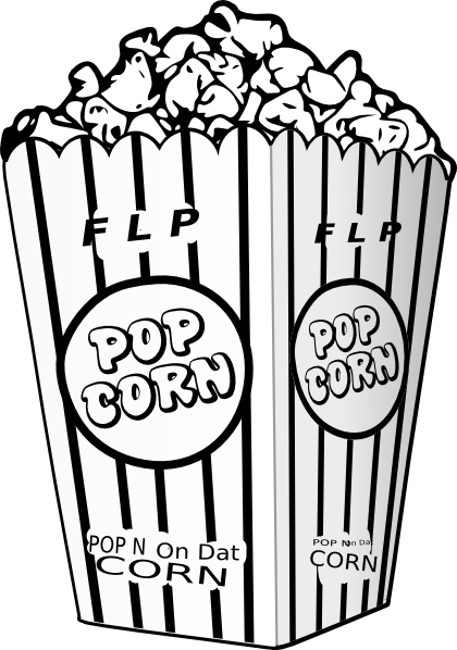 popcorn printable coloring pages - photo#21