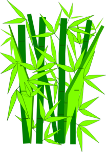 bamboo green clip art at clker.com - vector clip art online, royalty free &  public domain  clker