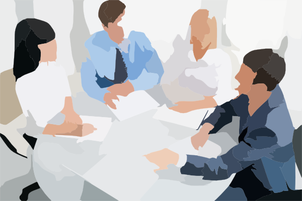 Round Table Clip Art at Clkercom vector clip art online
