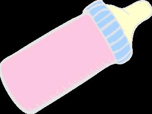 Baby Bottle Pink Clip Art at Clker.com - vector clip art ...