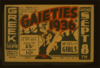 A Sparkling Musical Revue  Gaieties Of 1936  Clip Art