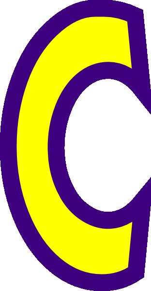 letter c clip art at clker com vector clip art online royalty rh clker com letter c clipart black and white letter c clipart with vines