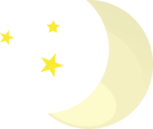 Moon And Stars Clip Art