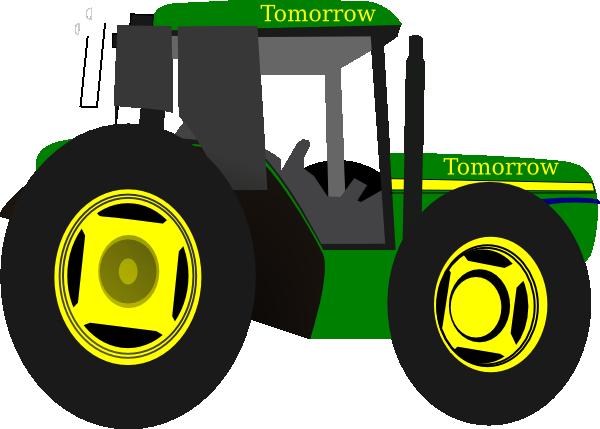 Tractor Grn Morrow Clip Art at Clker.com - vector clip art online ...