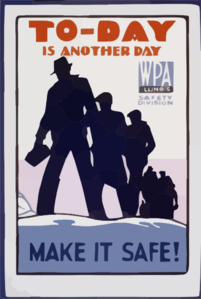 To-day Is Another Day Make It Safe! Clip Art