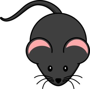 Cute Mouse Pink Clip Art