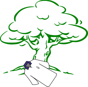 Bleeding Tree Clip Art