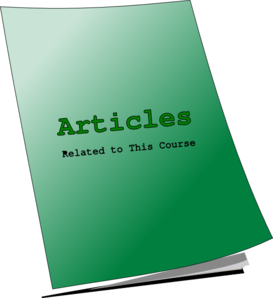 Articles Clip Art