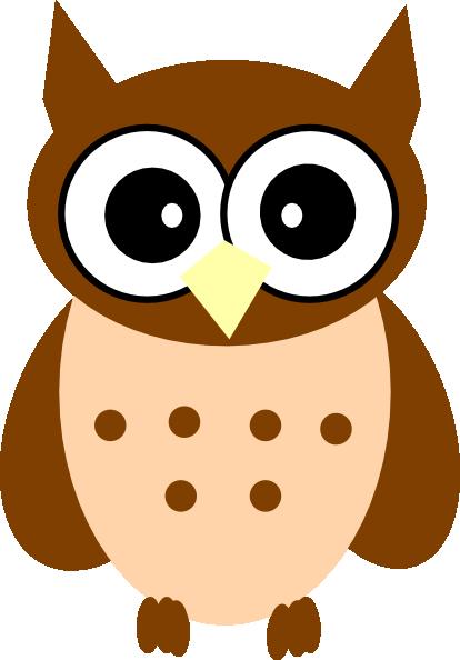 little brown owl clip art at clker com vector clip art online rh clker com Black Cat Clip Art Hedgehog Clip Art