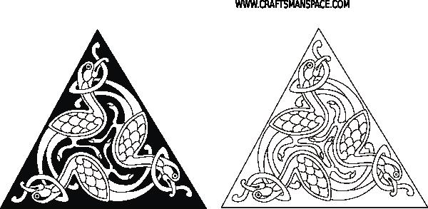Viking Triangle Knot