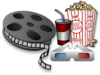Movie Theater Items Clip Art